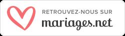 Logo d'un leader du marché du mariage - annuaire de prestataires wedding planeurs d'exception