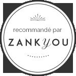 Recommandation certifiée par Zank you