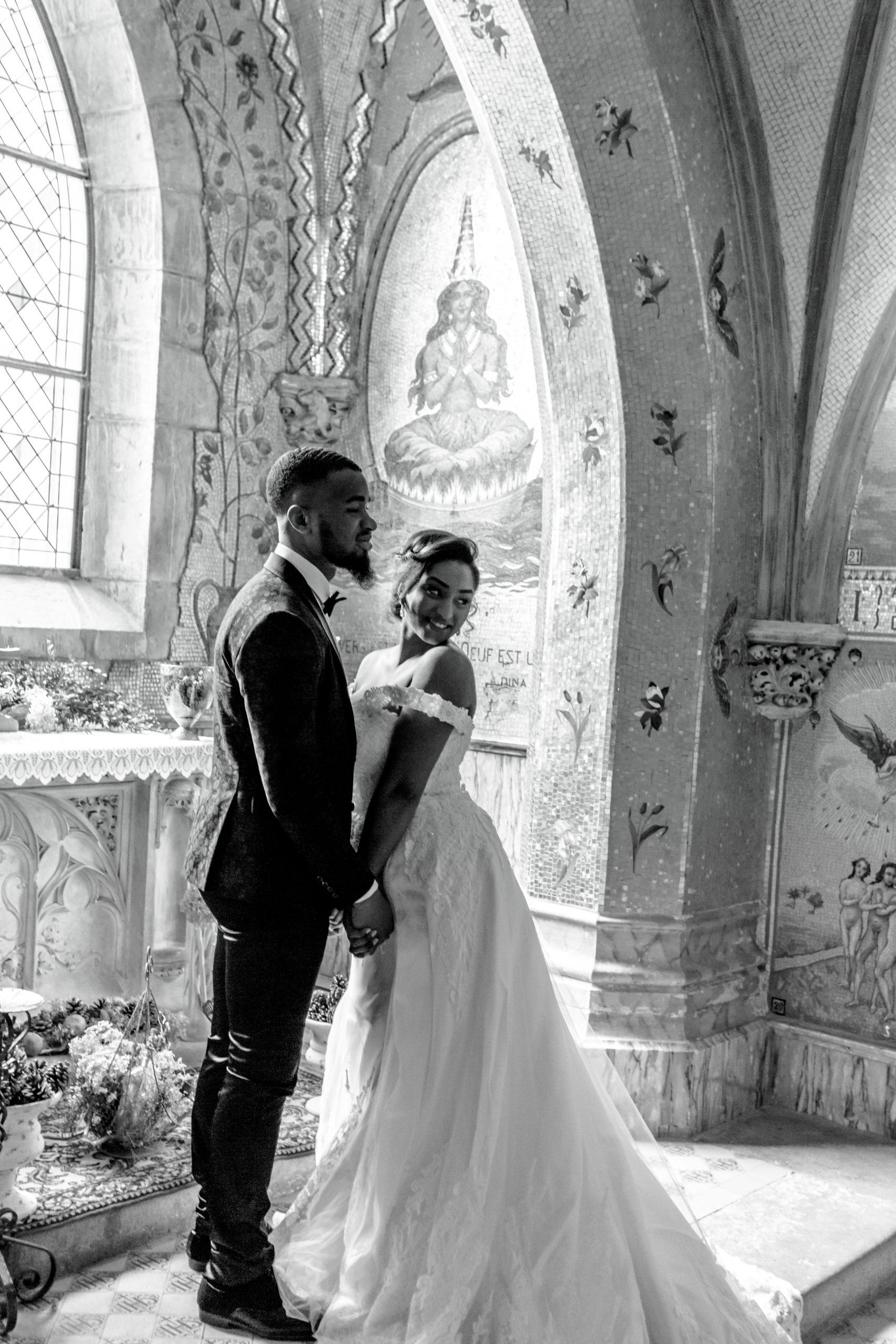 Décoration champêtre de mariage avec fput et caisses décoratives - thème nature chic
